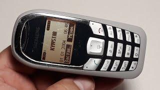 Siemens A70. Ретро телефон. Retro Telefon aus Deutschland. Капсула времени из Германии