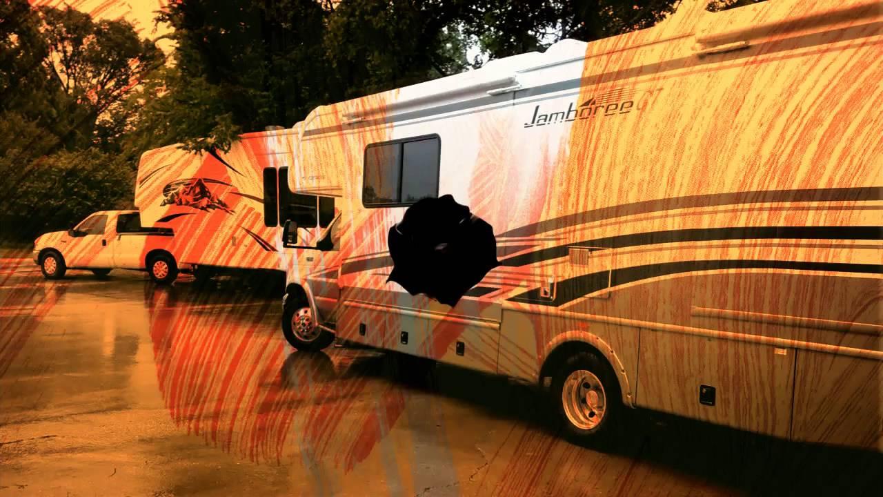 RV Wrap Rolart Montana 5th Wheel Trailer