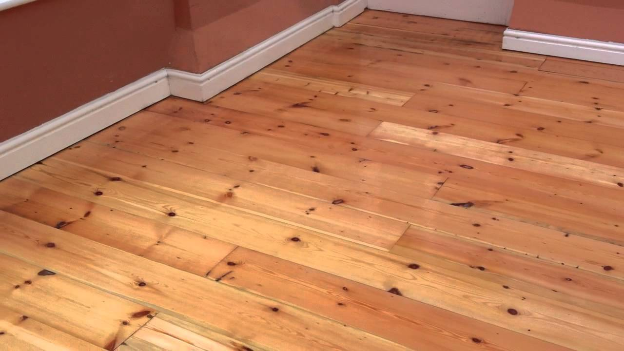 chester floor sanding, pitch pine floorboards sanded, sealed and