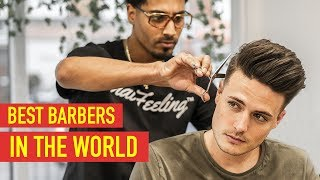 BEST BARBERS IN THE WORLD |  World Cup Barber 2018 | EP. 2
