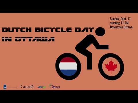 Fantasy Amsterdam-Ottawa Bicycle Race Video