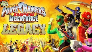 Power Rangers Super Megaforce: Legacy | Action Game By Nickelodeon