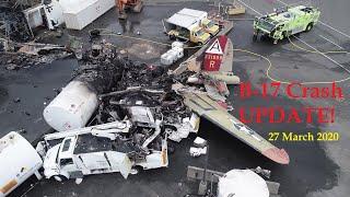 B 17 'Nine-O-Nine Crash UPDATE 27 March 2020