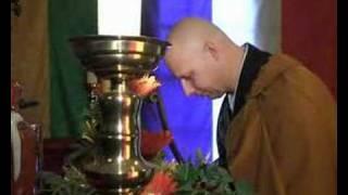 En zenbuddhistmunk med en misjon