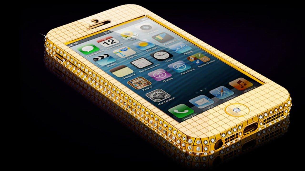 айфон фото золотой