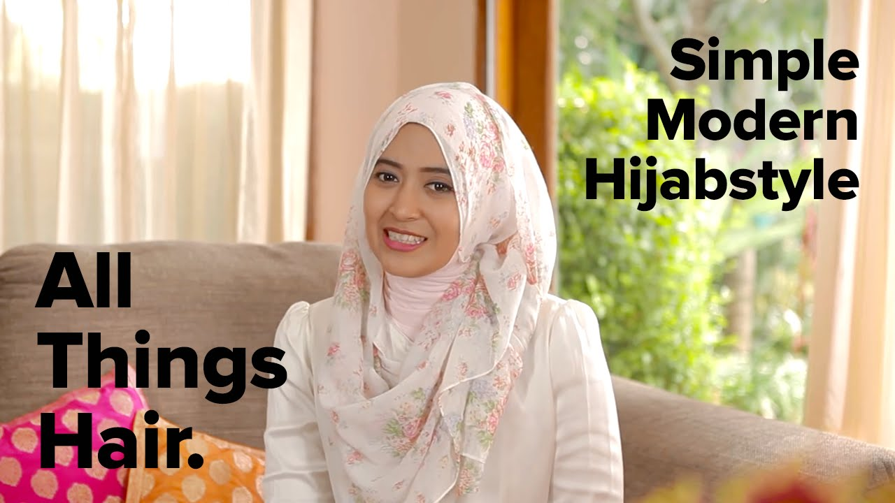 Tutorial Gaya Hijab Sehari Hari By Natasha Farani YouTube
