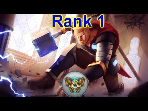 The only Jayce to Hit Rank 1