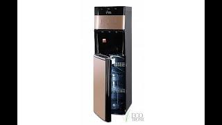 Обзор. Кулер для воды Ecotronic M30-LXE black+gold с нижней загрузкой бутыли