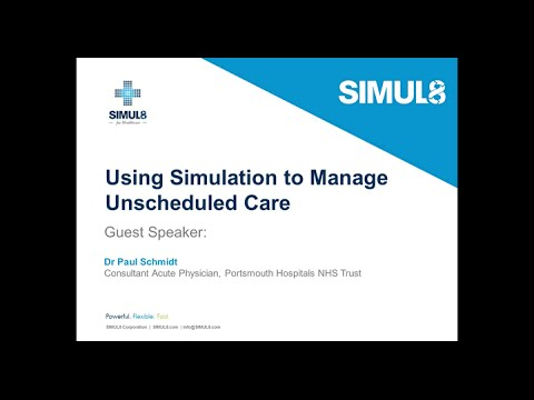 NHS Trust Portsmouth Hospital: Using Simulation to Manage Unscheduled Care