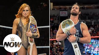 Becky Lynch, Seth Rollins fight over who's really