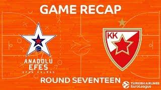 Highlights: Anadolu Efes Istanbul - Crvena Zvezda mts Belgrade