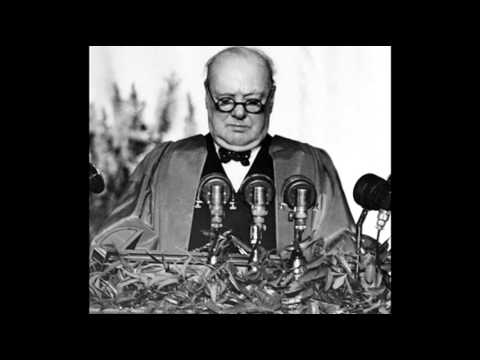 5th March 1946: Churchill makes his 'Iron Curtain' speech in Fulton