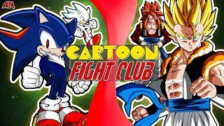 SHADIC vs GOGETA! (Sonic: Nazo Unleashed DX vs Dragon Ball GT) | Cartoon Fight Club