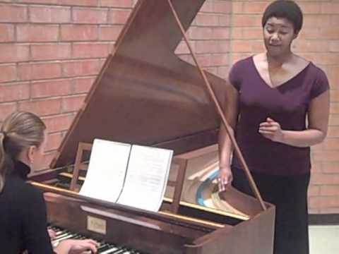 Natasha Marin plays Schumann Op. 42, No.1 on period instrument