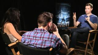Man on a ledge - movieweb exclusive interviews with sam worthington and anthony mackie