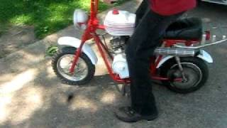 Mini Bike 1970 Fox Street Scamp