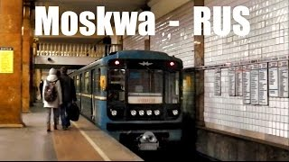 MOSKWA METRO - Die U-Bahn in Moskau (2015)