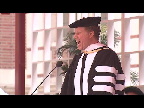 Will Ferrell gives funny USC commencement talk