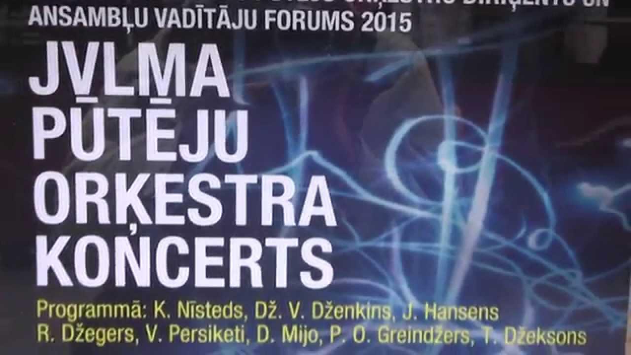VII Baltijas valstu pūtēju orķestru diriģentu UN ANSAMBĻU VADĪTĀJU  FORUMS 25.10.2015