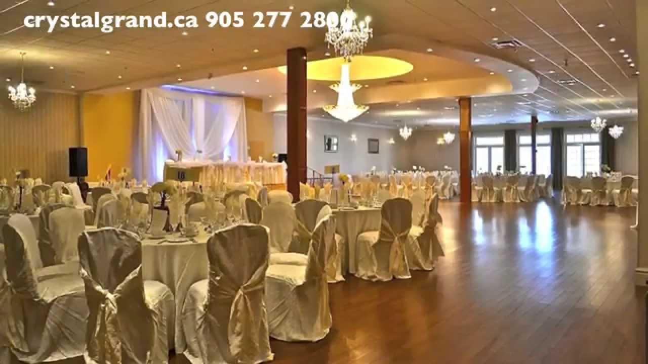 Mississauga Crystal Grand Banquet Hall Four Weddings Canada Wedding Youtube