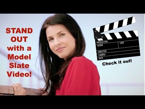 STANDING OUT with a MODEL SLATE VIDEO!