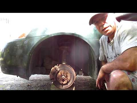 How to change front brake rotors on a Pontiac G6
