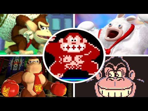 Download Youtube: Evolution of Donkey Kong Battles (1981 - 2017)