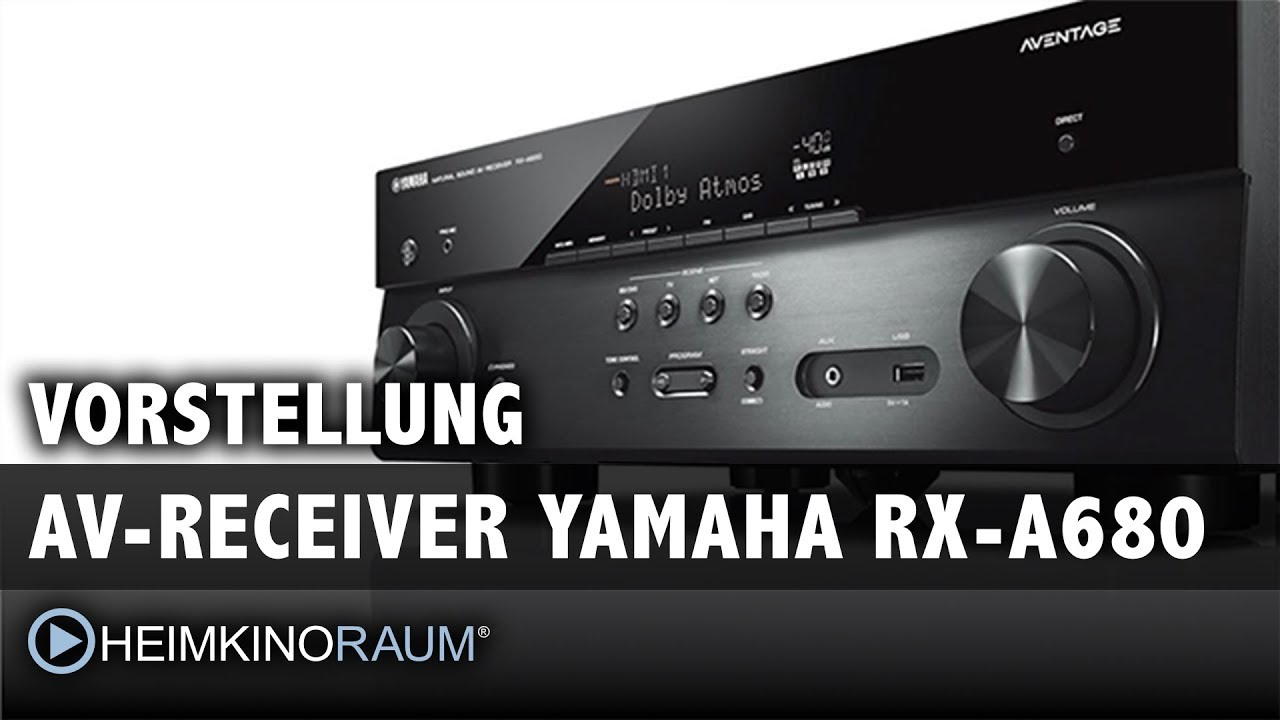vorstellung av receiver yamaha rx a680 youtube. Black Bedroom Furniture Sets. Home Design Ideas