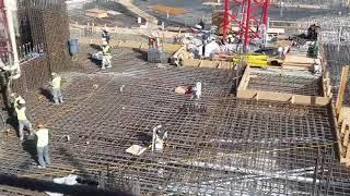 1500 mission San Francisco mat pour Concrete Pumping