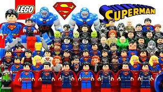 Ultimate LEGO® Superman™ Man of Steel DC Comics 2016 Minifigure Complete Collection