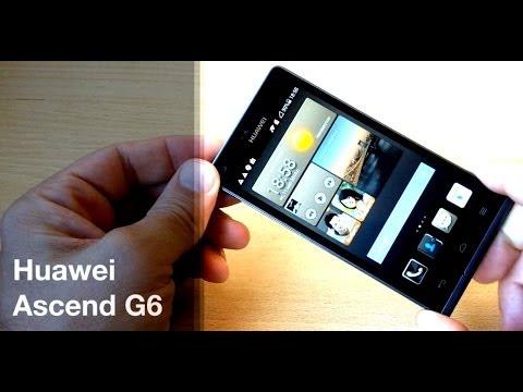 Huawei Ascend G6 - тонкий смартфон - видео обзор