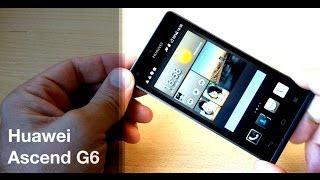 Huawei Ascend G6 - тонкий смартфон - видео обзор(Huawei Ascend G6 -- производительный 4,5 дюймовый смартфон, который наследует основные черты Huawei Ascend P6. В HUAWEI Ascend..., 2014-05-14T16:48:10.000Z)