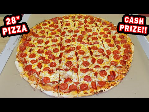 "BOSS HOG 28"" PIZZA CHALLENGE in South Dakota!!"