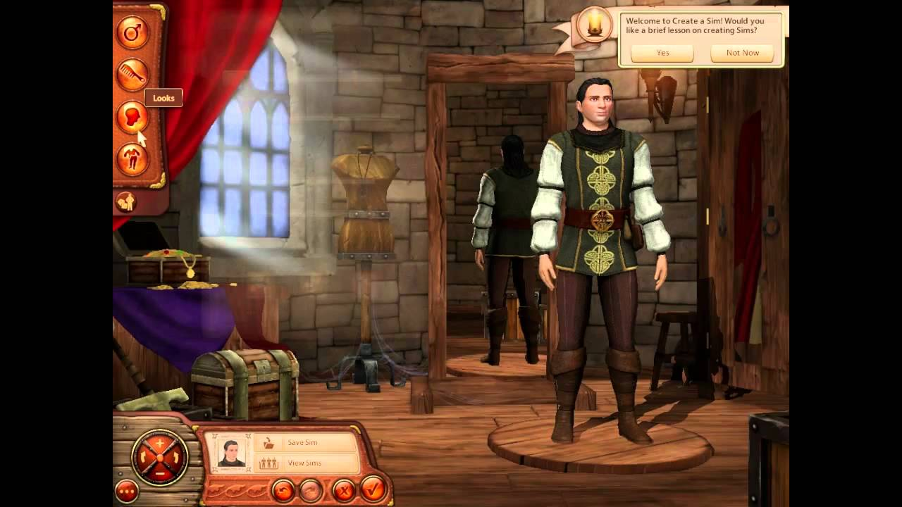 how to play sims medieval