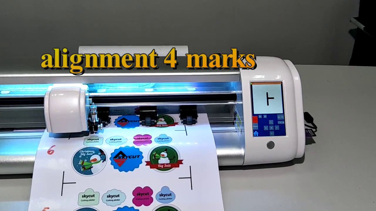 SKYCUT cutting plotter automatically print and cut,batch contour ...