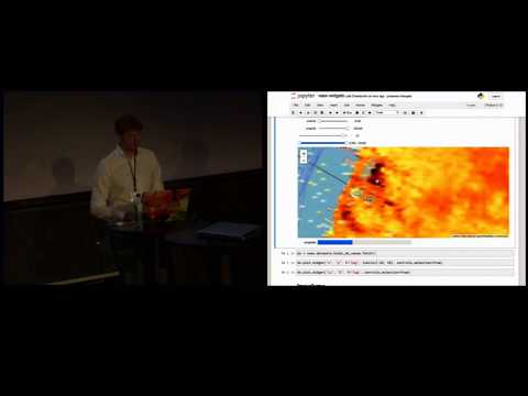 Maarten Breddels. Big Data And Visualization In The Jupyter Notebook.