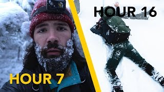 I Spent 24 Hours In A Blizzard
