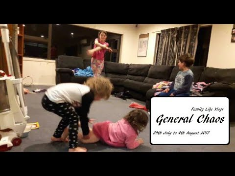 VEDA 7   Family Life Vlogs   General Chaos   29th July to 4th August 2017   AMummysLifeNZ
