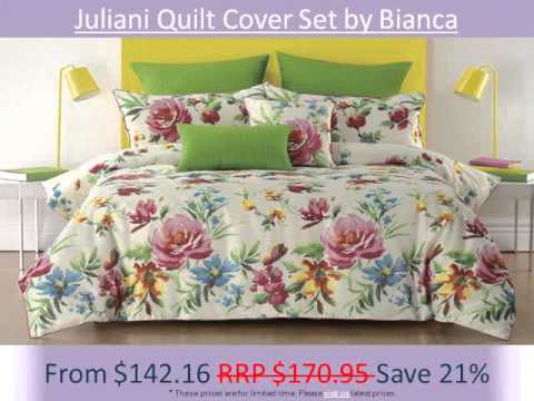 Bianca Quilt Cover Sets