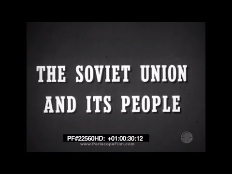 Soviet Union and its People - Cold War 22560 HD
