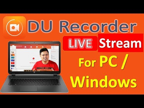 Simple And Easy PC Screen Recording With DU Recorder For Windows64bit / PC .TRY NOW