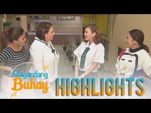Magandang Buhay: Angelica Panganiban goes back to her high school alma mater