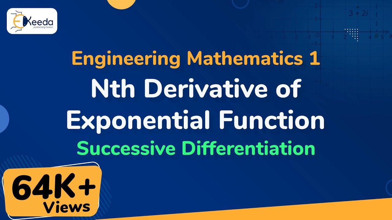 Nth Derivative of Exponential Function - Successive Differentiation -  Engineering Mathematics 1