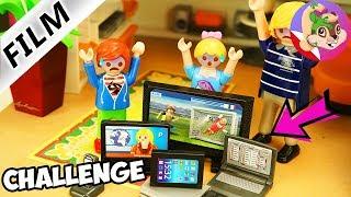 Playmobil Rodzina Wróblewskich Challenge 24 GODZINY BEZ TECHNOLOGII Tata 1 dzień bez smartfonów