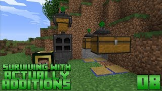 Surviving With Actually Additions :: E08 - Player Interface & Fishing Nets