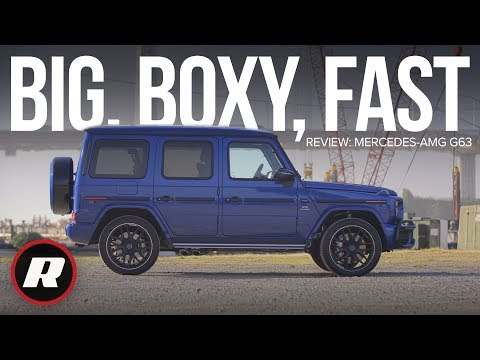 2019 Mercedes-AMG G63 G-Wagon Review: Big And Boxy, But Also Super-fast