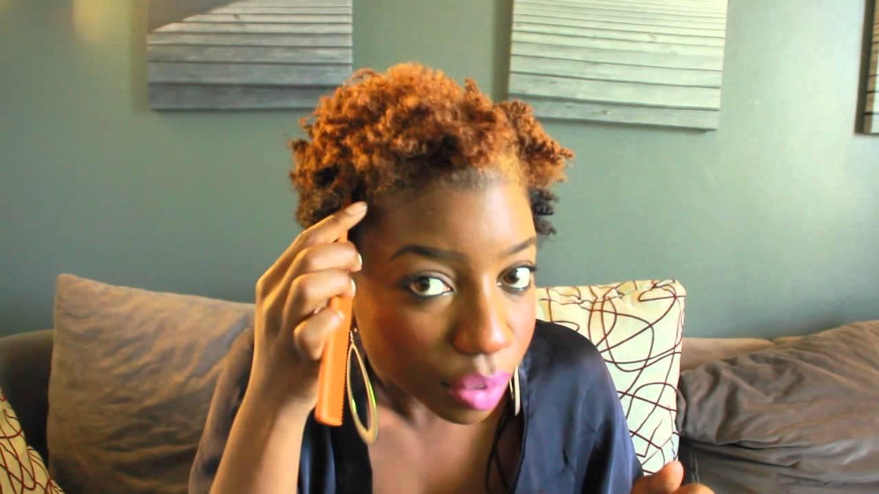 Flat Twist Out Vanille Couch 233 R 233 Sultat Sur Cheveux Court