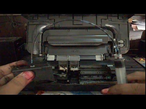 Cara Memperbaiki Cartridge Kartrid Printer Dengan Suntikan Youtube