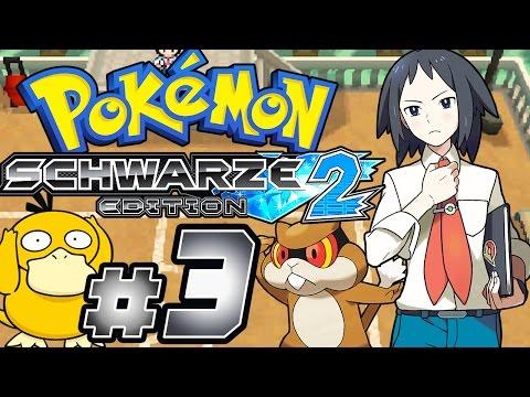POKÉMON SCHWARZ 2 # 03 ★ Cheren als Arenaleiter! [HD60] Let's Play Pokémon Schwarz 2