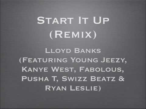 Start It Up Remix feat Young Jeezy, Kanye West, Fabolous, Pusha T & Swizz Beatz
